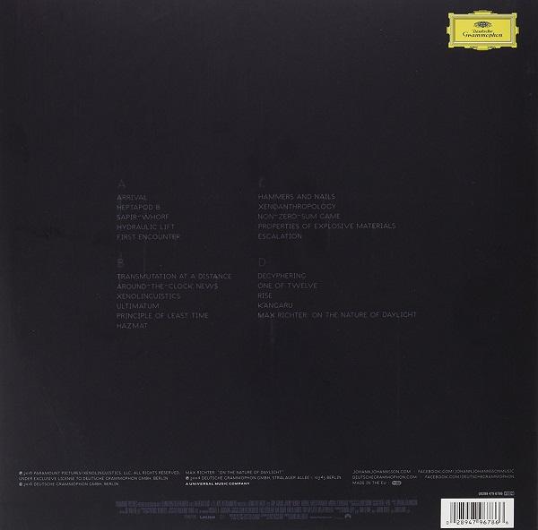 JOHANNSSON, JOHANN arrival LP