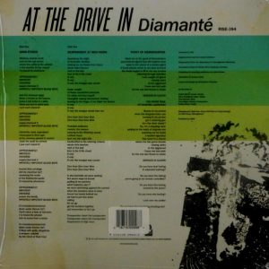 AT THE DRIVE IN diamante 10""