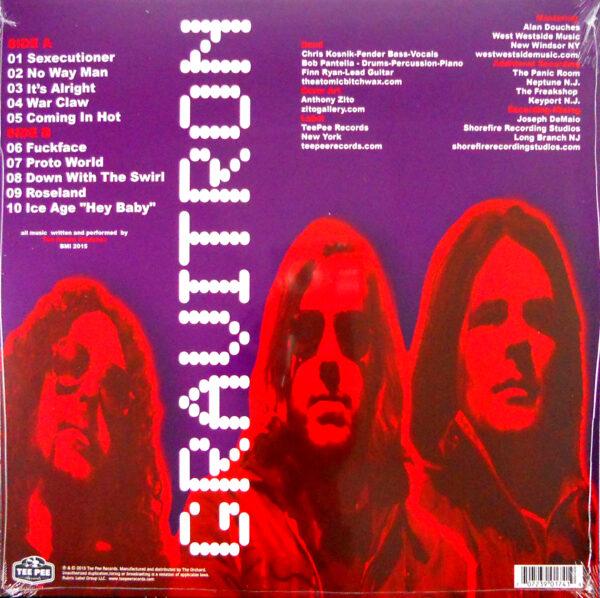 ATOMIC BITCHWAX, THE gravitron LP back