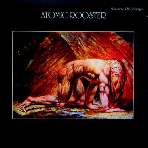 ATOMIC ROOSTER death walks behind you LP