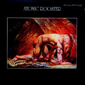 ATOMIC ROOSTER death walks behind you LP