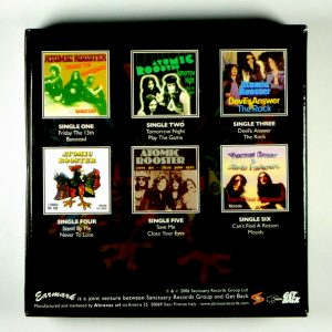 ATOMIC ROOSTER devil's answer - box set CD