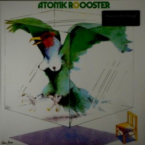 ATOMIC ROOSTER atomic rooster LP