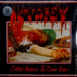 AUTOPSY critical madness - the demo years LP