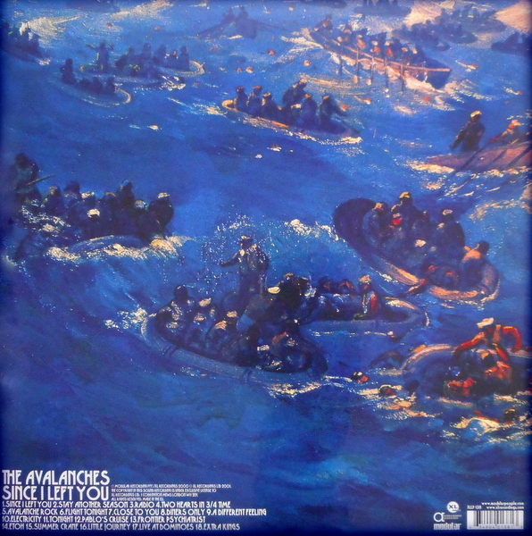 AVALANCHES since I left you LP