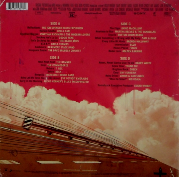 VARIOUS ARTISTS baby driver LP