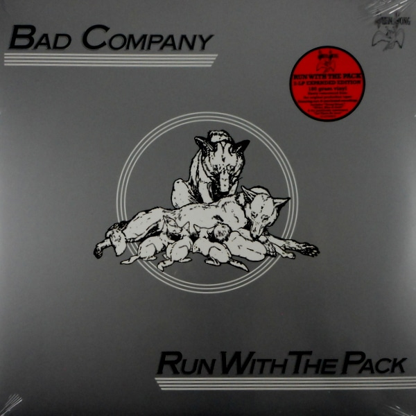 BAD COMPANY run with the pack - deluxe lp LP