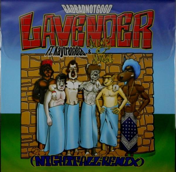 """BADBADNOTGOOD lavender 12"""""""