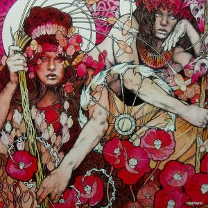 baroness red record lp