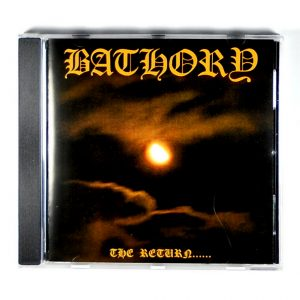 BATHORY the return CD