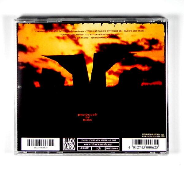 BATHORY twilight of the gods CD back