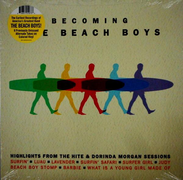 BEACH BOYS, THE becoming the beach boys LP