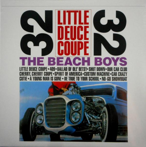 BEACH BOYS, THE little deuce coupe LP