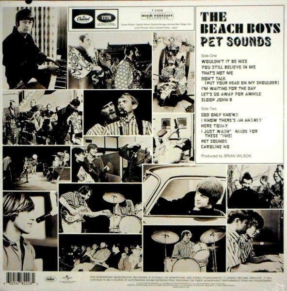 BEACH BOYS, THE pet sounds LP