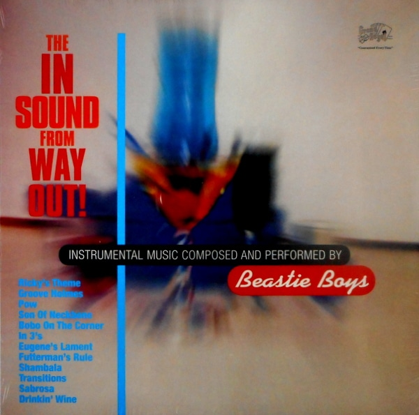 BEASTIE BOYS in sound from way out LP