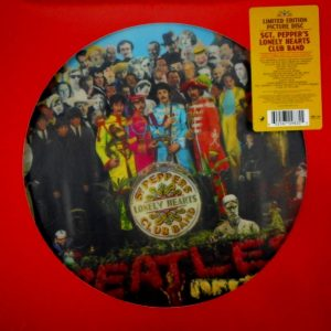 BEATLES, THE sgt peppers lonely hearts club band - pic disc LP