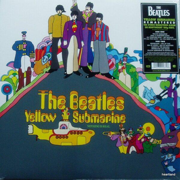 beatles yellow submarine lp