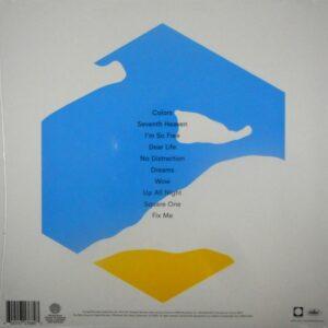 BECK colors - red vinyl LP LP