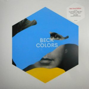 BECK colors - red vinyl LP LP