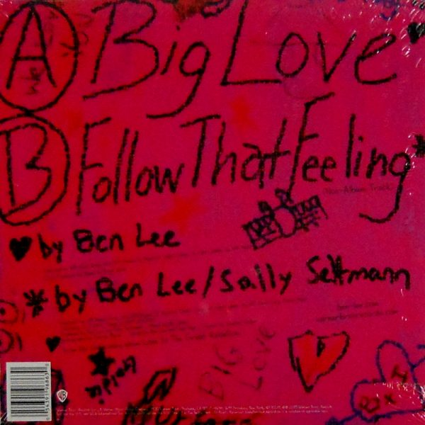 """LEE, BEN big love 7"""" inch back"""