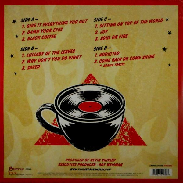HART, BETH & JOE BONAMASSA black coffee LP