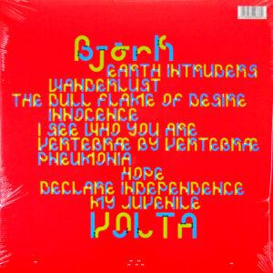 BJORK Volta - Col Vinyl LP