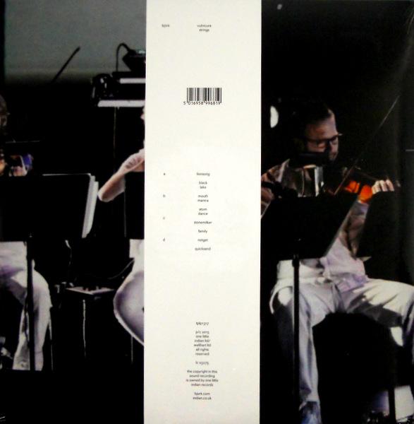 BJORK vulnicura - strings lp back