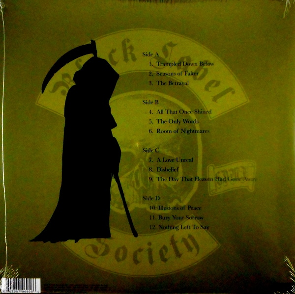 BLACK LABEL SOCIETY grimmest hits LP