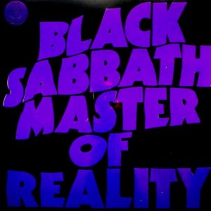 BLACK SABBATH master of reality LP