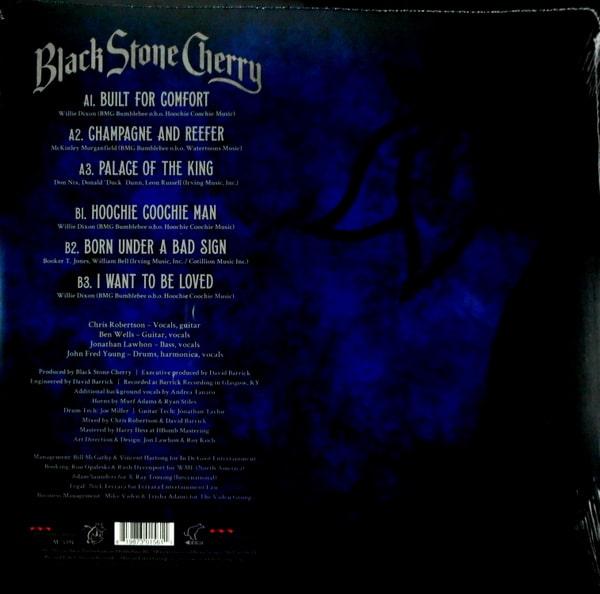 BLACK STONE CHERRY black to blues - col vinyl LP