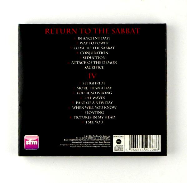 BLACK WIDOW return to the sabbat / 1V CD