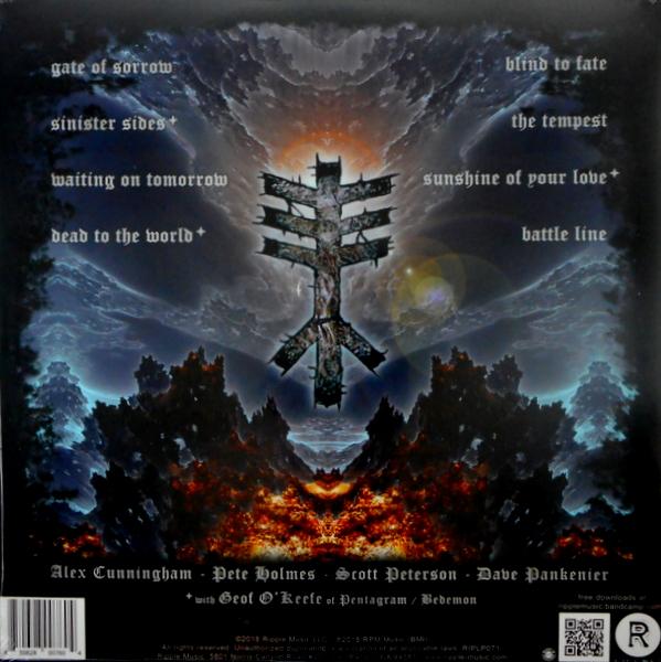 BLACKWULF sinister sides LP