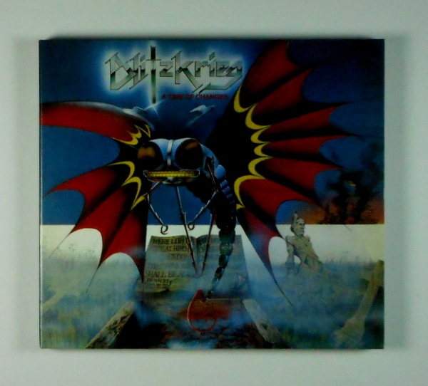 BLITZKRIEG a time of changes CD