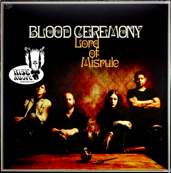 BLOOD CEREMONY lord of misrule LP
