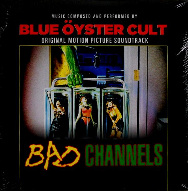 BLUE OYSTER CULT bad channels LP