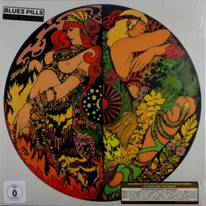 BLUE'S PILLS lady in gold - deluxe box set LP