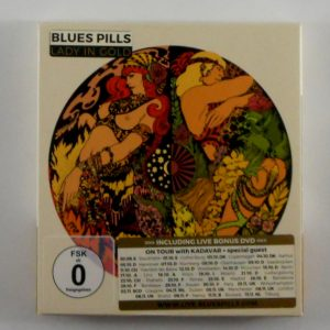 BLUE'S PILLS lady in gold - deluxe cd CD