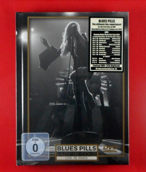 BLUE'S PILLS lady in gold live in Paris - deluxe cd/dvd CD
