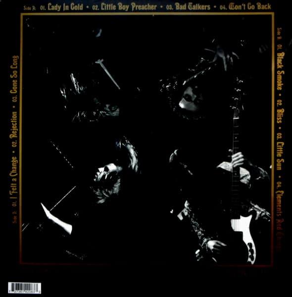 BLUE'S PILLS lady in gold live in Paris LP