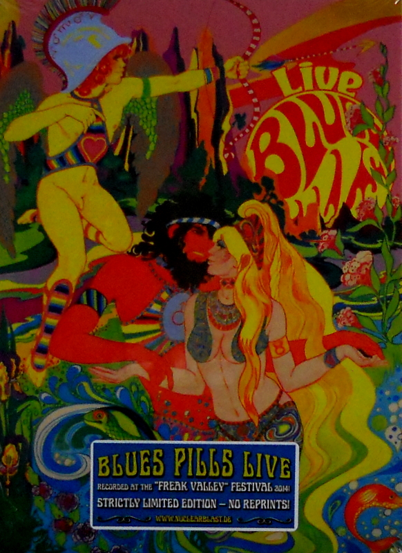 BLUE'S PILLS live - deluxe cd front