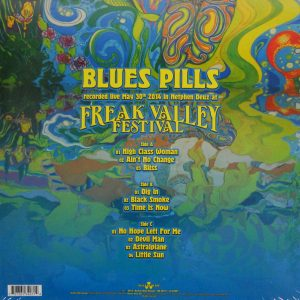 BLUE'S PILLS live LP