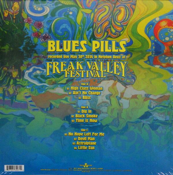 BLUE'S PILLS live LP