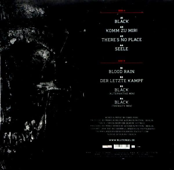 BLUTENGEL black LP