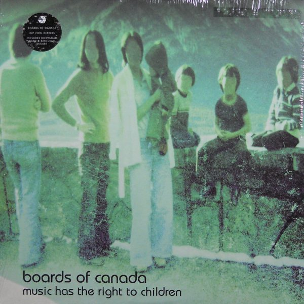 boards of canada music has the right lp front