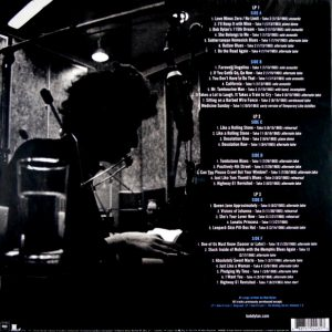 DYLAN, BOB the best of the cutting edge 1965 - 1966 LP back