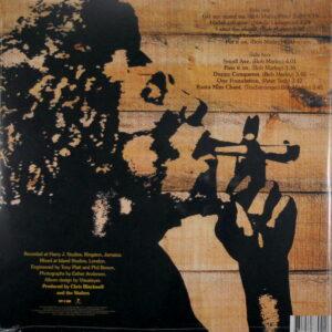 MARLEY, BOB & THE WAILERS burnin' LP back