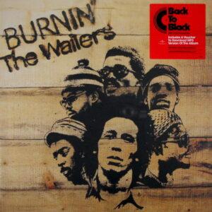 MARLEY, BOB & THE WAILERS burnin' LP