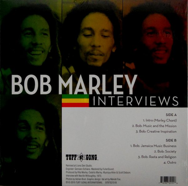 MARLEY, BOB & THE WAILERS so much things to say LP back
