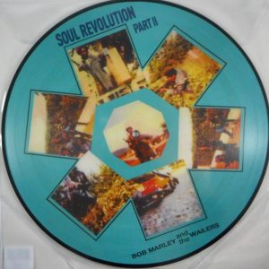 MARLEY, BOB & THE WAILERS soul revolution part 2 - pic disc LP