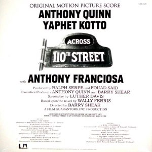 WOMACK, BOBBY across 110th street LP back